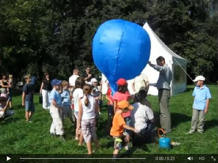 """cukierkowy"" balon - film na Facebook-u"